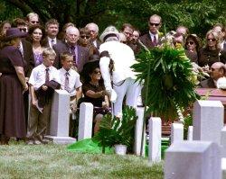 NASA Astronaut Conrad buried