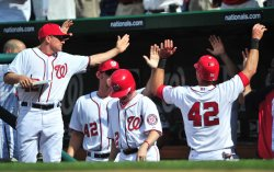 Nationals Rick Ankiel scores in Washington