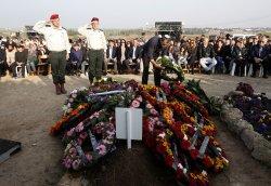Former Israeli Prime Minster Ariel Sharon's Funeral in Israel