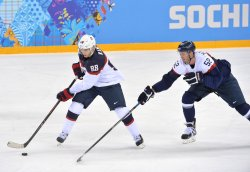 Men's Hockey USA VS Slovakia Sochi 2014 Winter Olympics