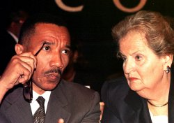 Secretary of State Albright addresses NAACP meeting in New York