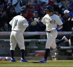 Arizona Diamondbacks vs. Chicago Cubs in Wrigley Field 100th Anniversary game in Chicago