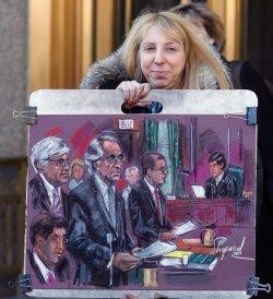 Financier Bernard Madoff pleads guilty in New York.