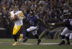 Pittsbught Streelers vs Baltimore Ravens