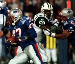 New York Jets vs. New England Patriots football