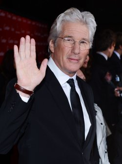 Richard Gere arrives at the 24th annual Palm Springs International Film Festival in Palm Springs, California
