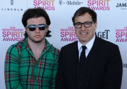 David O. Russell wins Best Director and Best Screenplay trophies at the 28th annual Film Independent Spirit Awards in Santa Monica, California