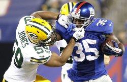 Green Bay Packers vs. New York Giants