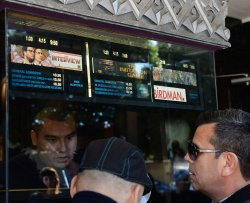 """Patrons flock to the Christmas Day showing of """"The Interview"""" in Los Angeles"""