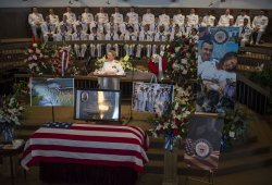 Military Chattanooga Victim Funeral Service