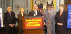 PRESCRIPTION DRUG COSTS TOO HIGH UNDER BUSH PLAN