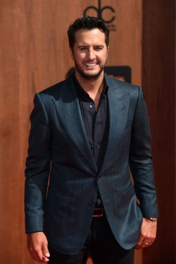Singer Luke Bryan attends the American Country Countdown Awards in Inglewood, Calif.