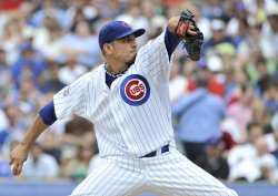 Cubs Garza delivers against Brewers in Chicago
