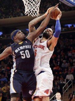 New York Knicks vs Memphis Grizzlies