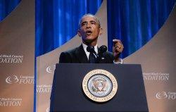 President Obama addresses Congressional Black Caucus Foundation Dinner in Washington