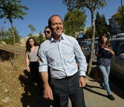 Jerusalem Mayor Nir Barkat Votes In Israel's Municipal Elections