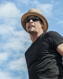 Kid Rock performs at the NASCAR Sprint Cup Series Championship Ford EcoBoost 400 at the Homestead-Miami Speedway in Homestead, Florida