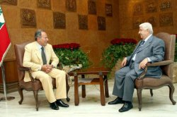 WALID MOUALEM AND EMILE LAHOUD MEET IN BEIRUT