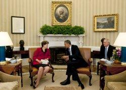 U.S. President Barack Obama meets with Brazilian President Dilma Rousseff in Washington