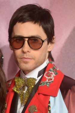 Jared Leto at The Fashion Awards in London