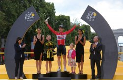 102nd Tour de France concludes in Paris