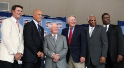 NATIONAL BASEBALL HALL OF FAME INDUCTION IN NEW YORK