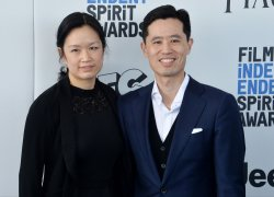Louise Chen and Colin Chen attend Film Independent Spirit Awards in Santa Monica, California