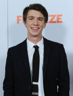 "Thomas Mann attends the ""Fun Size"" premiere in Los Angeles"
