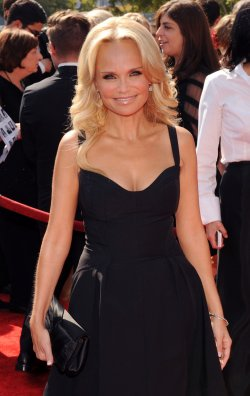 Kristin Chenoweth arrives at the Primetime Creative Arts Emmy Awards in Los Angeles