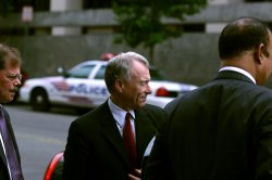 SCOOTER LIBBY RETURNS TO COURT IN WASHINGTON
