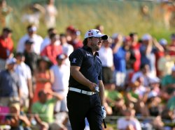 Graeme McDowell watches his tee shot during the TPC Players in Florida