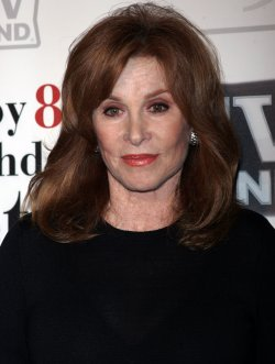 Stefanie Powers arrives for Betty White's 89th Birthday Party in New York