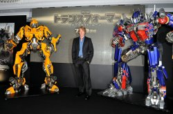 """Transformers: Dark of the Moon"" Japan premiere"
