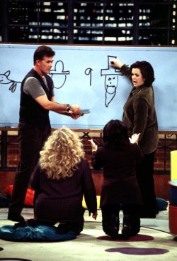"Rosie O'Donnell on ""Pictionary"""