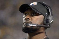 Steelers Head Coach Mike Tomlin in Pittsburgh