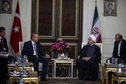 Turkish Prime Minister Recep Tayyip Erdogan visits Tehran, Iran
