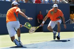 Bryan brothers win men's doubles finals at the U.S. Open in New York