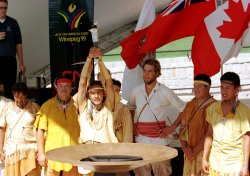 Pan Am games Torch