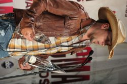 Album of the Year winner Jason Aldean at the 2011 CMA Awards in Nashville