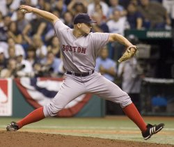 Game Six of the ALCS between the Tampa Bay Rays and Boston Red Sox in Tampa Bay