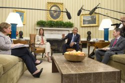 President Obama Meets with his Ebola Response Team in Washington, D.C.