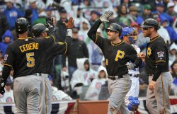 Pirates Walker congratulated after grand slam in Chicago