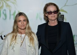 """Lisa Love and Nathalie Love attend the """"Woodshock"""" premiere in Los Angeles"""