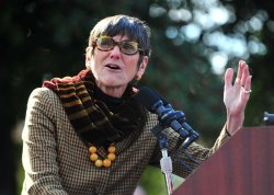 Rep. Rosa DeLauro speaks on childrens healthcare reform in Washington
