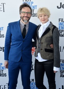 Charles Spano and Claire Carre attend Film Independent Spirit Awards in Santa Monica, California