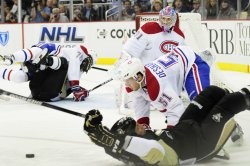 Canadien knock Pens to the ice in Pittsburgh