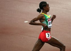 Ayana wins the 5000 Meters Women Final at the World Championships in Beijing