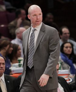 Seton Hall Pirates head coach Kevin Willard at the NCAA Big East Men's Basketball Championships in New York