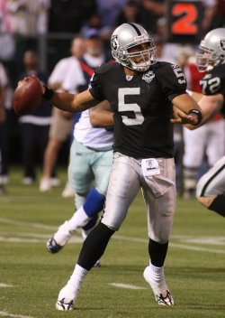 Dallas Cowboys vs Oakland Raiders in preseason football