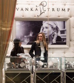 Eric Trump's wife at Ivanka Trump Boutique in Trump Tower